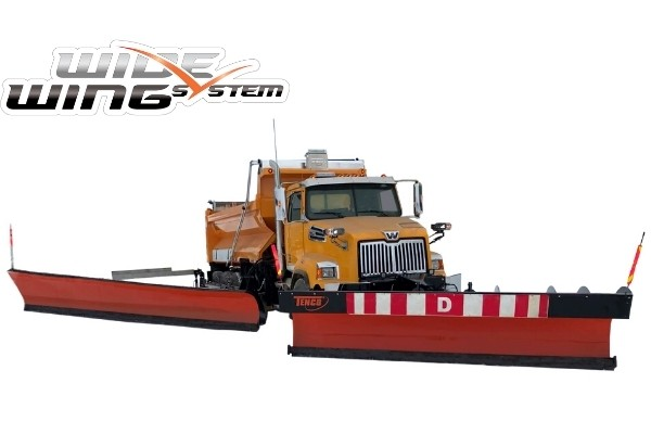 Wide Wing System by Tenco - A multilane plowing system for highways and roads